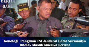Panglima TNI Gatot di tolah AS
